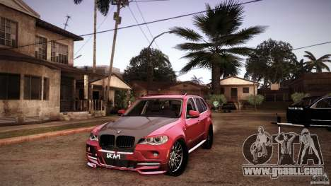 BMW X5 with Wagon BEAM Tuning for GTA San Andreas