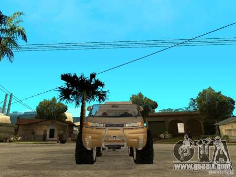 Ford Intruder 4x4 Concept + Caravan for GTA San Andreas right view