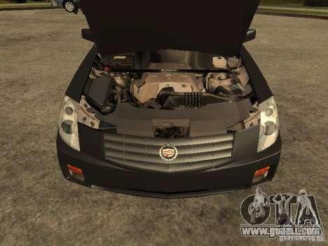 Cadillac CTS for GTA San Andreas right view