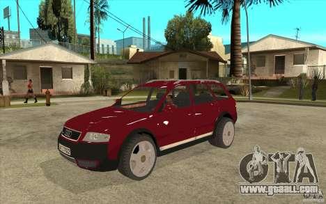 Audi Allroad Quattro v1.1 for GTA San Andreas