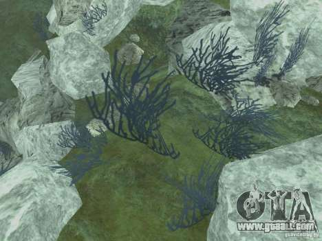 HD textures of the seabed for GTA San Andreas forth screenshot