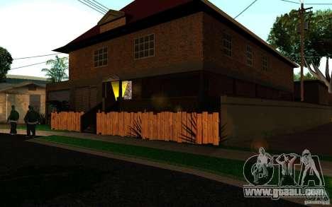 New home on Grove Street CJ for GTA San Andreas second screenshot