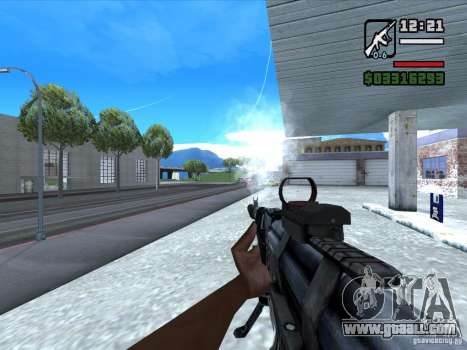 AK-103 from WARFACE for GTA San Andreas third screenshot