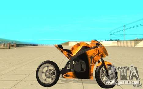 DoubleT Custom for GTA San Andreas left view