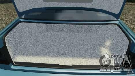BMW E34 V8 540i for GTA 4 interior