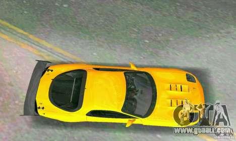 Mazda RX7 RE-Amemiya for GTA Vice City inner view