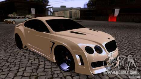 Bentley Continental GT Premier 2008 V2.0 for GTA San Andreas side view