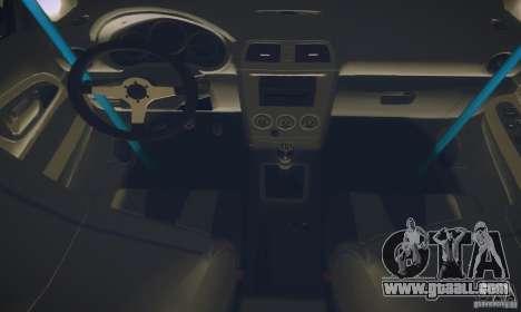 Subaru Impreza WRX STI Futou Battle for GTA San Andreas inner view