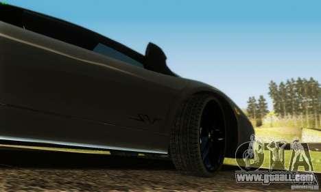Lamborghini Murcielago LP 670-4 SV for GTA San Andreas upper view