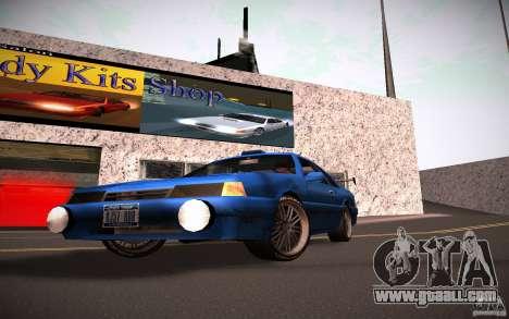 HD lights for GTA San Andreas