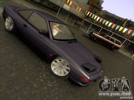 BMW 850 CSI for GTA San Andreas side view