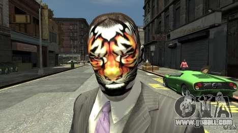Tatoo Tiger for GTA 4