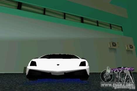 Lamborghini Gallardo LP570 SuperLeggera for GTA Vice City inner view