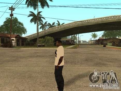 T Shirt Red Bull for GTA San Andreas fifth screenshot
