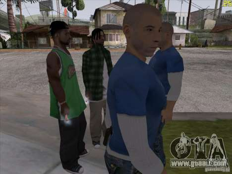 Vin Diesel for GTA San Andreas second screenshot