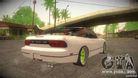 Nissan 180SX JDM for GTA San Andreas right view