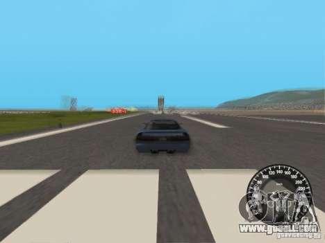 Speedometer Audi for GTA San Andreas
