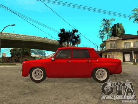 Renault 8 Gordini for GTA San Andreas left view