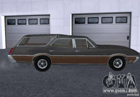 Oldsmobile Vista Cruiser 1972 for GTA San Andreas left view