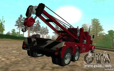 Kenworth Towtruck for GTA San Andreas left view