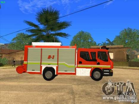 Renault Midlum 270 Magirus Camiva for GTA San Andreas upper view