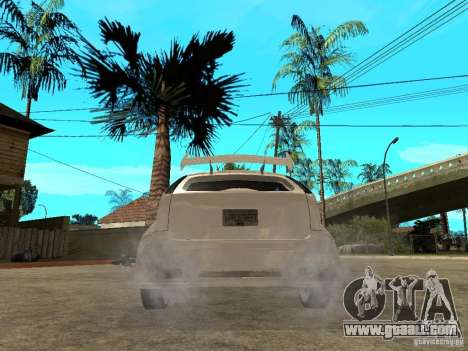 Ford Focus Tuned for GTA San Andreas back left view