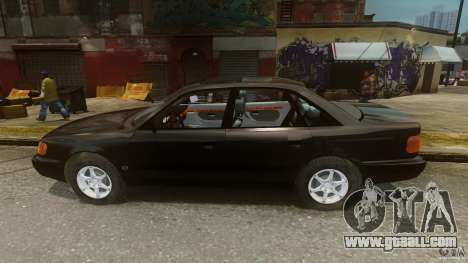Audi 100 C4 1992 for GTA 4 left view