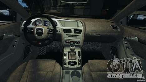 Audi S5 v1.0 for GTA 4 back view