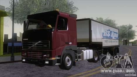 Volvo FH12 for GTA San Andreas upper view