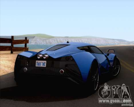 Marussia B2 2010 for GTA San Andreas