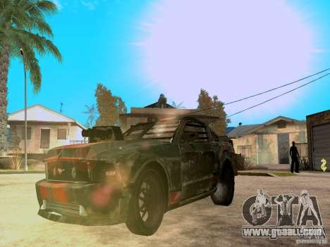 Ford Mustang Death Race for GTA San Andreas side view