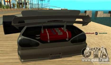 Elegy v1.1 for GTA San Andreas back left view