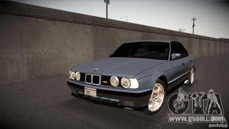 BMW M5 E34 1990 for GTA San Andreas