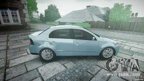 Volkswagen Voyage Comfortline for GTA 4 side view