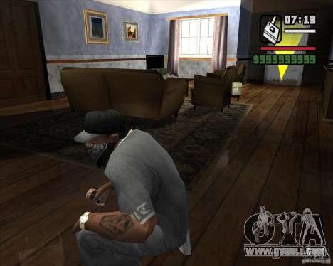 Detector of s. t. a. l. k. e. R # 2 for GTA San Andreas second screenshot