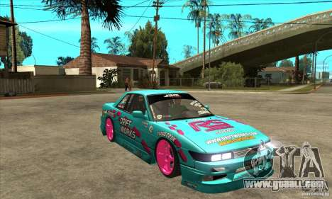 Nissan Silvia S13 Drift Works for GTA San Andreas back view