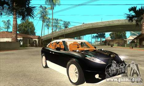 Spyker D8 Peking-to-Paris for GTA San Andreas back view