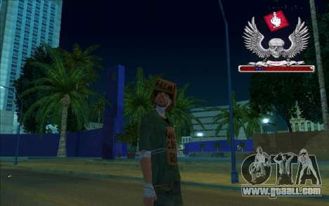 HD box-Bum for GTA San Andreas second screenshot