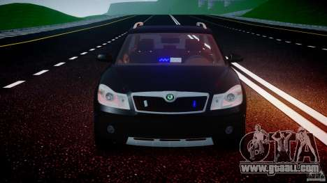 Skoda Octavia Scout Unmarked [ELS] for GTA 4 bottom view