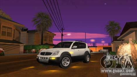 SsangYong Rexton 2005 for GTA San Andreas left view