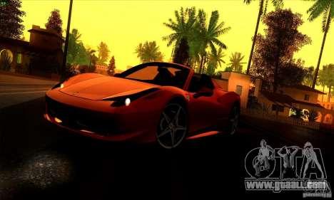 SA_gline 4.0 for GTA San Andreas second screenshot