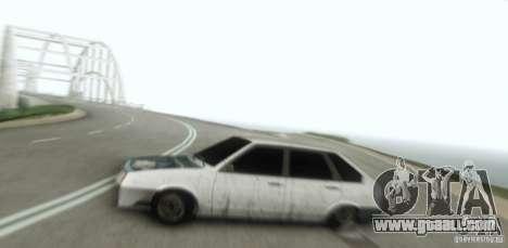 Vaz 2109 Hobo for GTA San Andreas back view