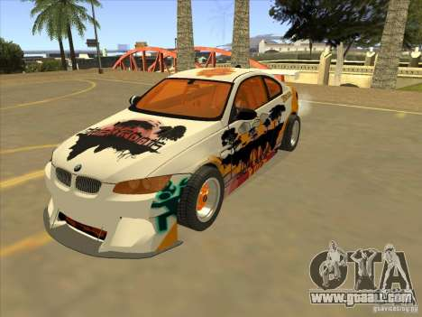 BMW M3 E92 DriftRoots for GTA San Andreas