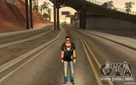 Biker for GTA San Andreas fifth screenshot