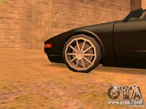 Infernus Revolution for GTA San Andreas engine