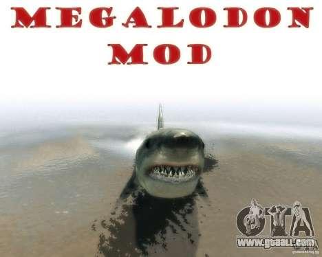 Megalodon for GTA 4