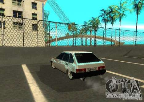 Vaz 2109 AK-47 for GTA San Andreas right view