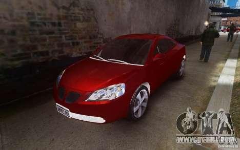 Pontiac G6 for GTA 4