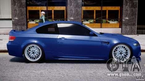 BMW M3 Hamann E92 for GTA 4 upper view