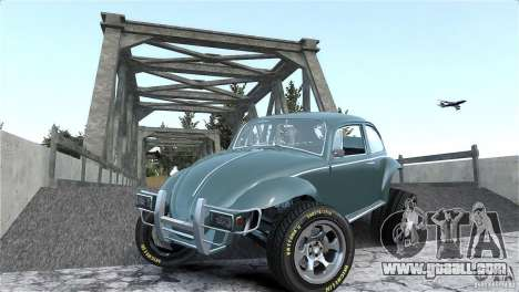 Baja Volkswagen Beetle V8 for GTA 4 upper view